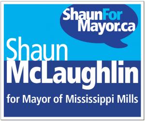 ShaunForMayor.ca sign